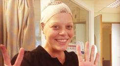 Lyndsey Connolly was diagnosed with cancer while battling meningitis