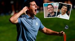 Rory McIlroy is joined on the rich list by Tom Brady and Cristiano Ronaldo