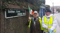 Cork Street Names Campaign picture via Diarmaid Ó Cadhla Twitter