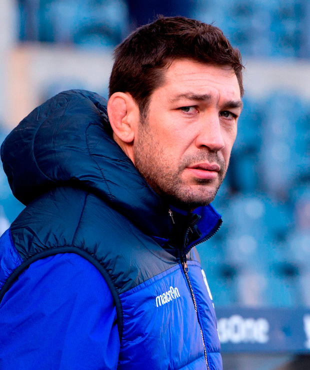 Scotland's assistant coach Nathan Hines. Photo: Ian Rutherford/PA