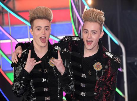 Jedward come 2nd after being evicted from the Celebrity Big Brother houseon February 3, 2017 in Borehamwood, United Kingdom. (Photo by Karwai Tang/WireImage)