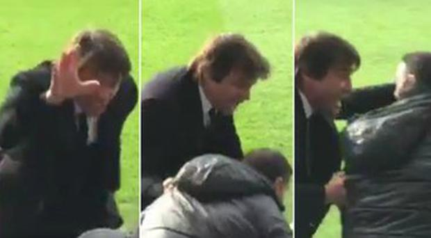 Antonio Conte clearly finds it tough to keep a lid on his emotions