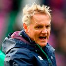 Ireland head coach Joe Schmidt ahead of the RBS Six Nations Rugby Championship match between Scotland and Ireland at BT Murrayfield Stadium in Edinburgh, Scotland. Ramsey Cardy/Sportsfile