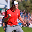 "Jon Rahm: 'My dad literally dropped me off at the airport and said ""Goodbye, son. Let me know when you get there""'. Photo: Orlando Ramirez/USA Today"