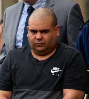 Big catch: Naoufal Fassih, the obese Moroccan-born criminal. Photo: Collins