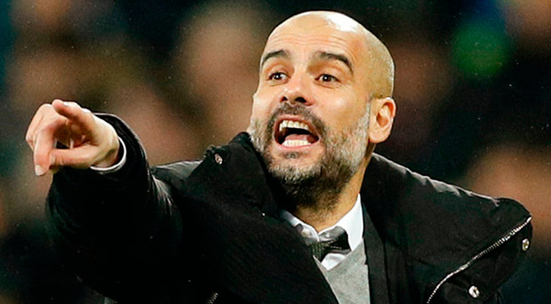 Manchester City manager Pep Guardiola. Photo: John Sibley/Reuters