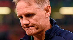 Ireland head coach Joe Schmidt. Photo: Brendan Moran / Sportsfile
