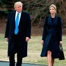 U.S. President Donald Trump and his daughter Ivanka Trump. Photo by Mark Wilson/Getty Images