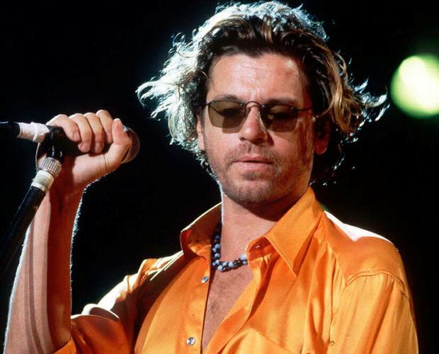 Michael Hutchence, the late singer and songwriter for Australian rock group INXS. Photo: Fabrice Coffrini/AP Photo