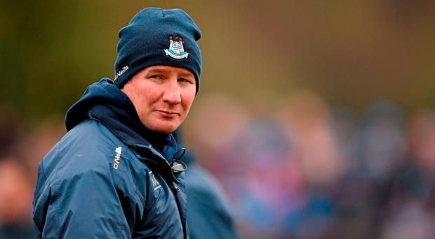 Dublin manager Jim Gavin. Allianz Football League Division 1, Round 7, Roscommon v Dublin. Páirc Seán MacDiarmada, Carrick on Shannon, Co. Leitrim. Picture credit: Brendan Moran / SPORTSFILE