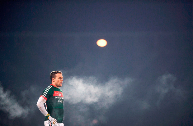 Andy Moran of Mayo during the match Photo: Stephen McCarthy/Sportsfile