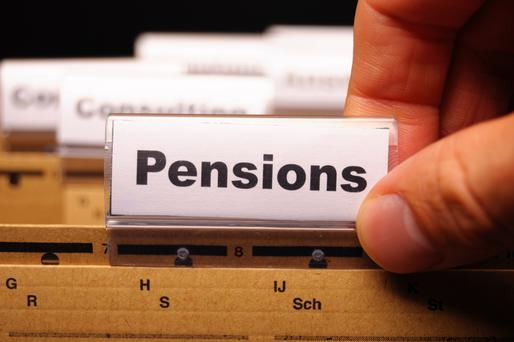 Just a third of private sector workers have a pension. (Stock photo)