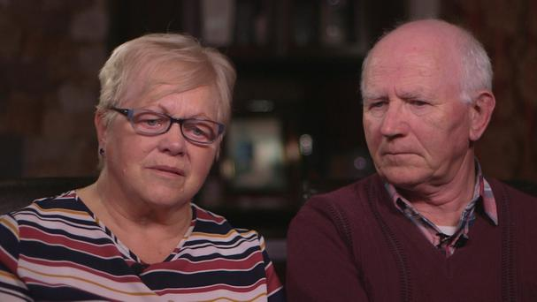 Betty and her husband Pat.Betty has a painful and debilitating spinal problem. Her quality of life has drastically diminished as she struggles to cope with the pain. RTÉ Investigates - Living on The List Monday 6th February 9.35pm on RTE One.