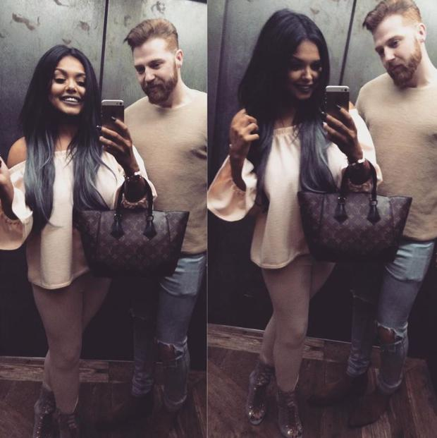 Scarlett Moffatt and ex-boyfriend Luke Crodden. Picture: Instagram