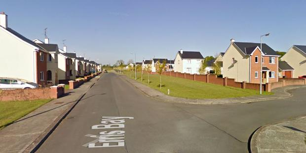 The Erris Bay estate in Boyle, where the incident occurred.