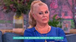 Kim Woodburn clashed with This Morning host Phillip Schofield. Pic: ITV