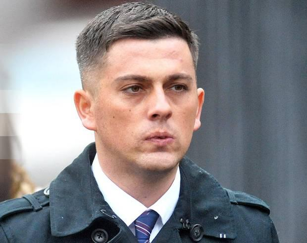 Christopher O'Neill is on trial for murder of his baby daughter Caragh Walsh