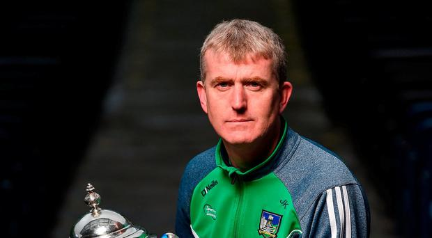 New Limerick hurling manager John Kiely. Photo: Seb Daly/Sportsfile