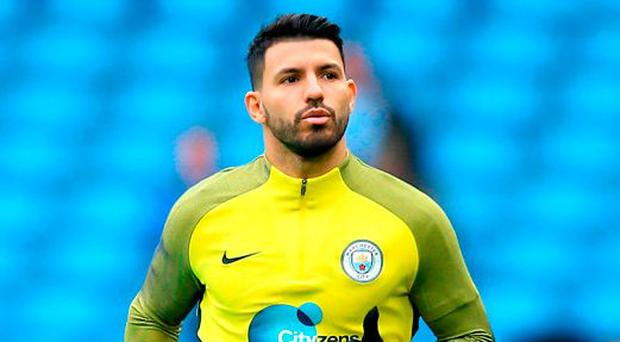 Argentinian striker Sergio Aguero. Photo: Alex Livesey/Getty Images