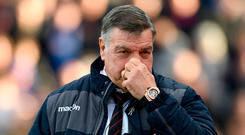 Allardyce: Facing tough battle. Photo: Tony O'Brien/Action Images via Reuters
