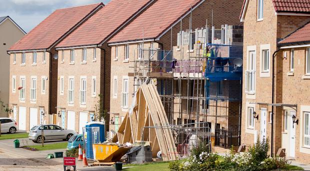 Almost 15,000 new homes were completed last year, the largest number since 2009.