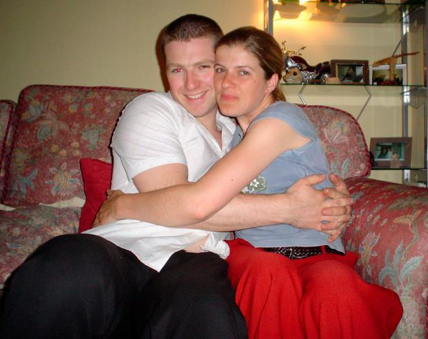 John and Aisling married within a year of her diagnosis so that she would be able to walk down the aisle