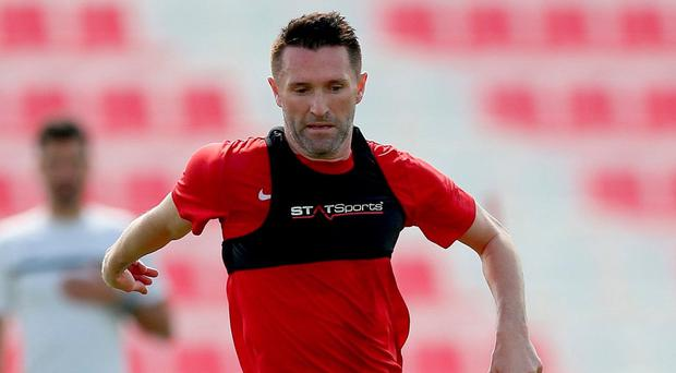 Robbie Keane indicated last month that a return to England was top of his list and while that didn't come to pass before the close of the transfer window, it didn't matter as Keane is a free agent. Photo: PA