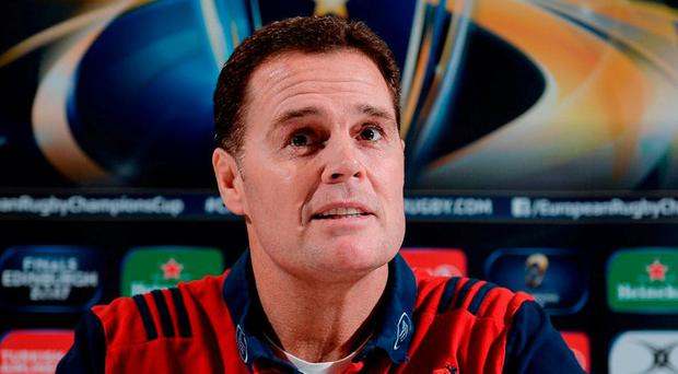 Munster director of rugby Rassie Erasmus. Photo: Seb Daly/Sportsfile
