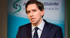 Simon Harris: Aware crisis is taking place on his watch. Photo: Colin O'Riordan