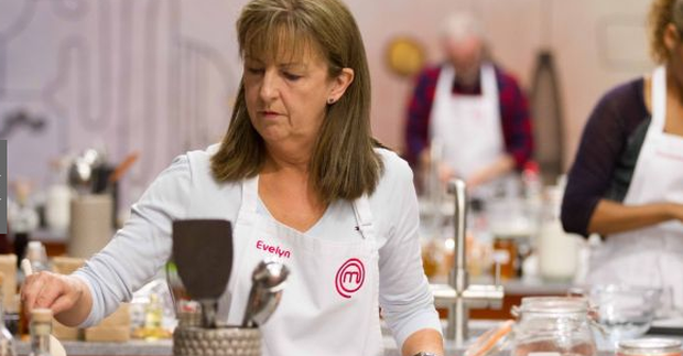 Evelyn Cusack on Celebrity MasterChef