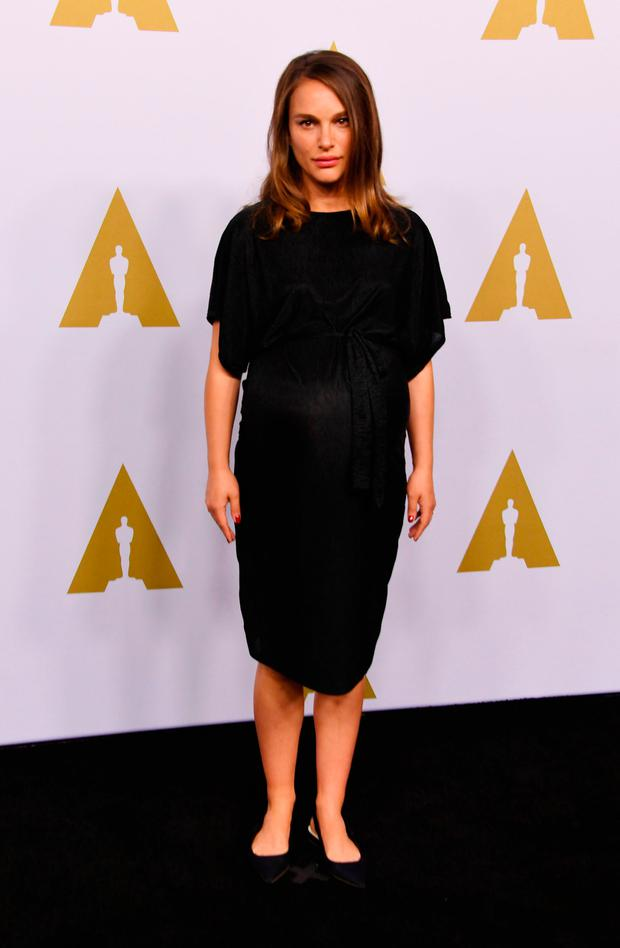 Actress Natalie Portman arrives for the 89th Annual Academy Awards Nominee Luncheon at The Beverly Hilton Hotel