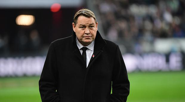 New Zealand coach Steve Hansen
