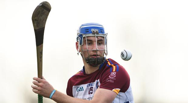 John McGrath in action today for UL
