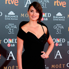 Actress Penelope Cruz on the red carpet Picture: Getty