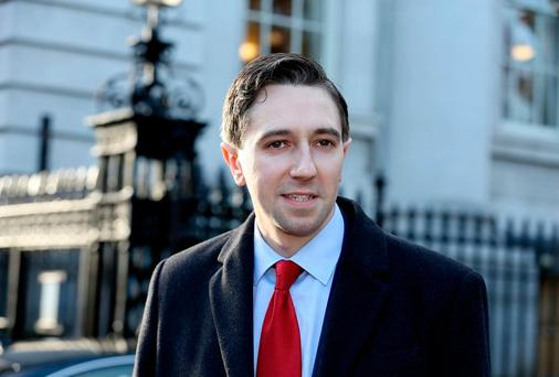 'Health Minister Simon Harris is full of platitudes, but falls short when it comes to taking action on our failing health system'. Photo: Tom Burke