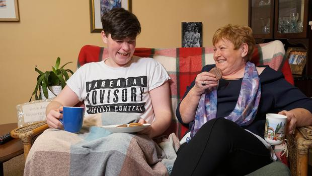 Tadhg (16) and Granny Ettie are Gogglebox Ireland's newest stars