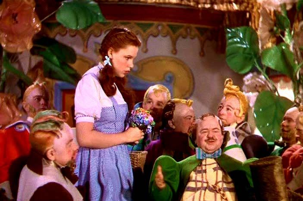 Judy Garland on The Wizard of Oz. Image: Wizard of Oz/Warner Bros