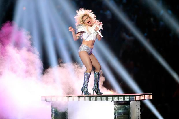 Musician Lady Gaga performs onstage during the Pepsi Zero Sugar Super Bowl LI Halftime Show at NRG Stadium on February 5, 2017 in Houston, Texas. (Photo by Christopher Polk/Getty Images)