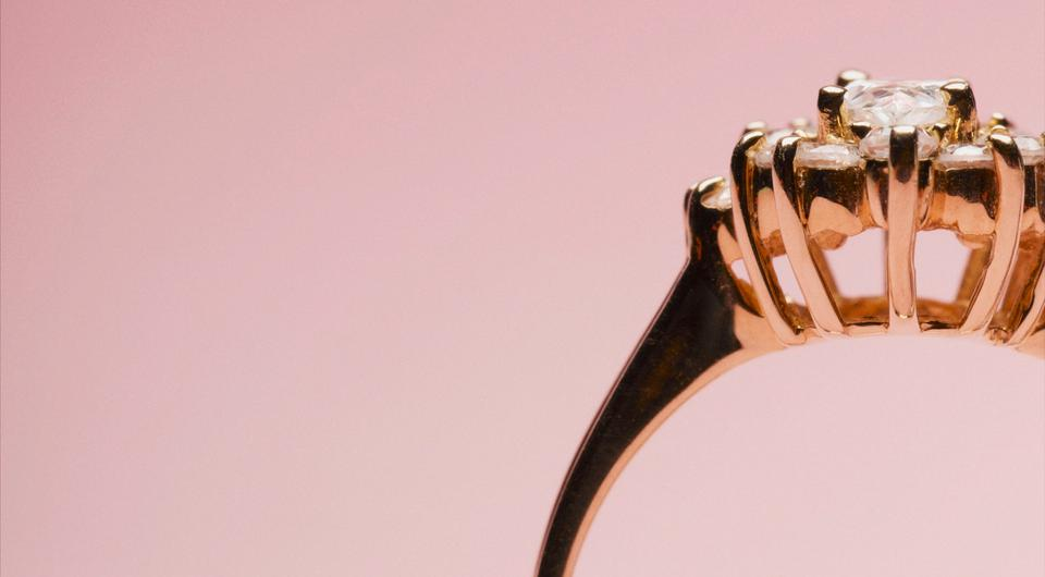 Scary: The purchase of an engagement ring is a big untertaking