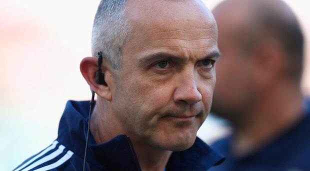 Conor O'Shea will be hoping to take their scalp on Saturday in Rome. Photo: Phil Walter/Getty Images