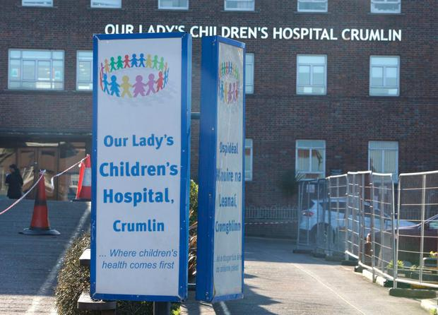 Our Lady's Hospital in Crumlin Picture: Damien Eagers