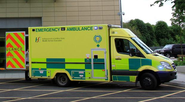 The accident involved a collision between two St Munchin's players. Both players were taken to CUH for precautionary observation (Stock photo)