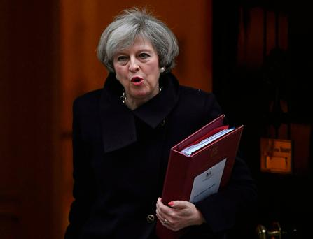 MPs voted overwhelmingly to approve British PM Theresa May's plans to trigger Article 50 Picture: Reuters