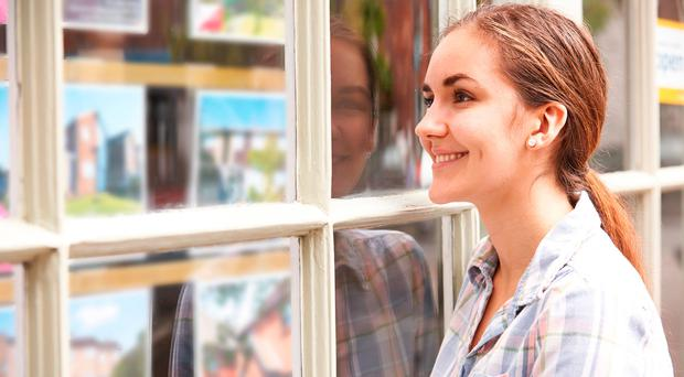 """Large numbers of first-time buyers are using the """"bank of mum and dad"""" to get a deposit together."""