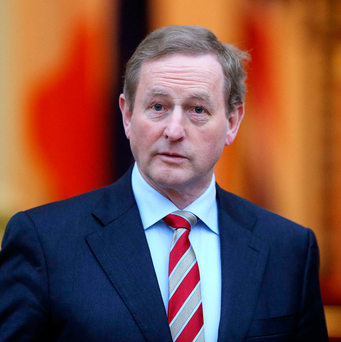 Taoiseach Enda Kenny Picture: Gerry Mooney