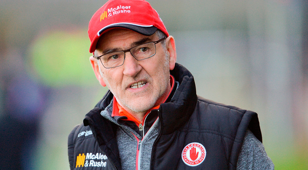 Mickey Harte in his 15th season as Tyrone boss Photo: Sportsfile