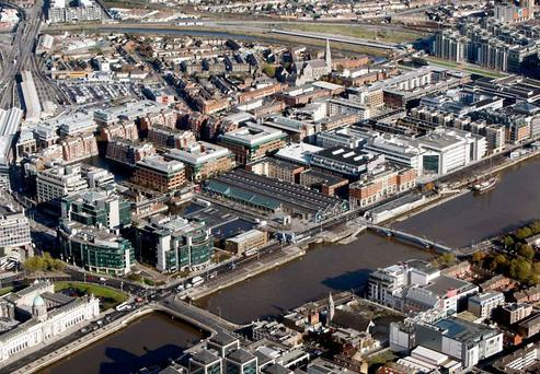 Dublin's IFSC (Stock picture)