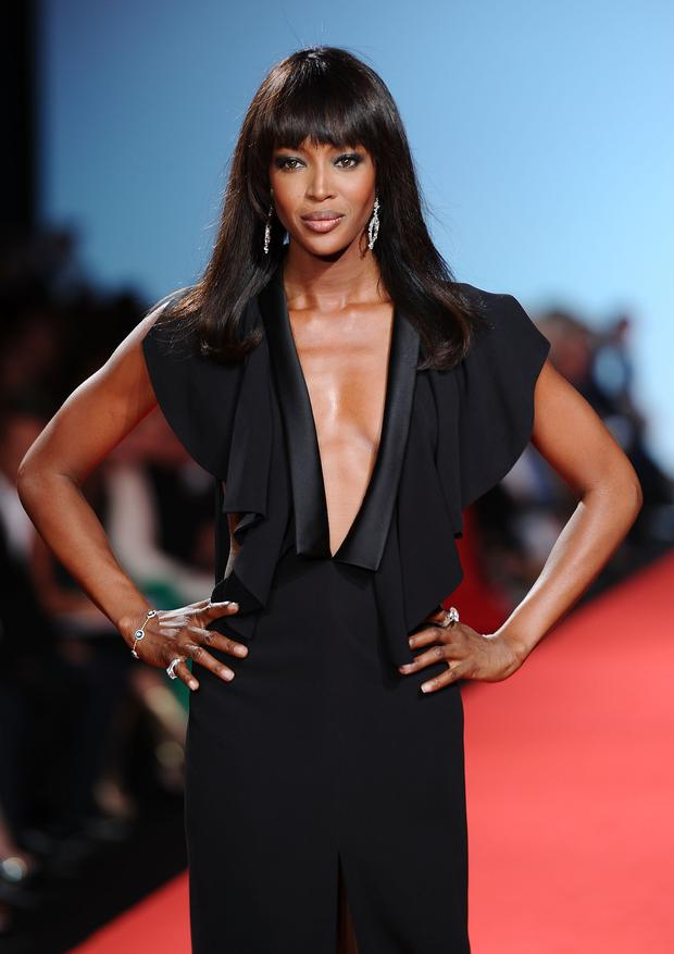 Model Naomi Campbell walks the runway at the Fashion For Relief at Forville market during the 64th Annual Cannes Film Festival on May 16, 2011 in Cannes, France. (Photo by Ian Gavan/Getty Images)