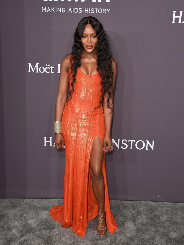 Model Naomi Campbell attends the 19th annual amfAR's New York Gala to kick off NY Fashion Week at Cipriani Wall Street on February 8, 2017 in New York City. / AFP / Angela Weiss (Photo credit ANGELA WEISS/AFP/Getty Images)