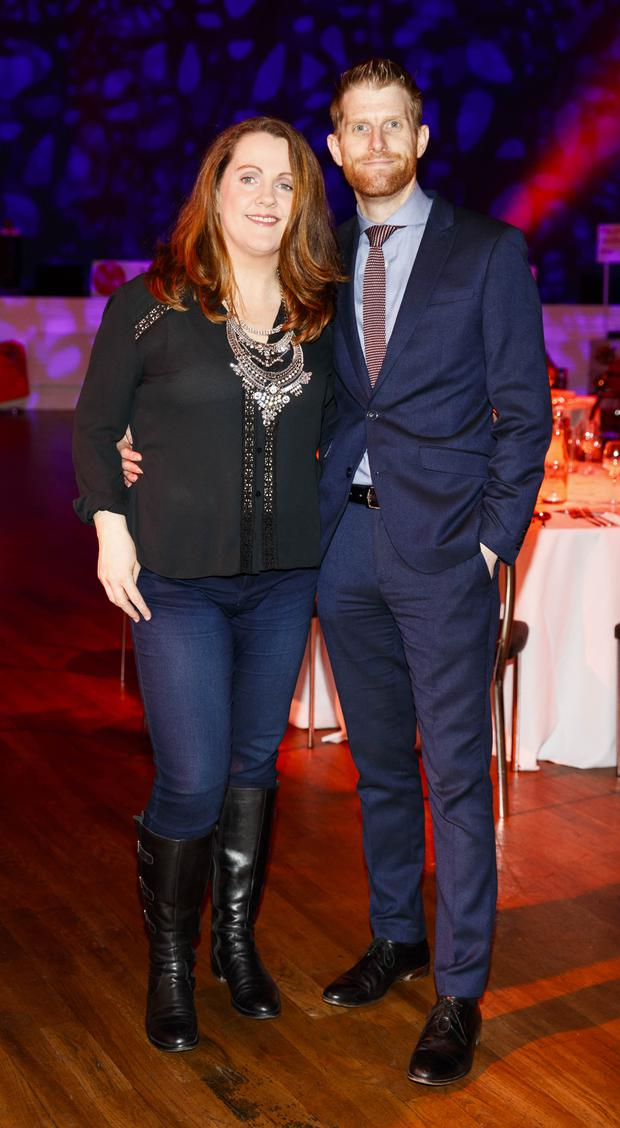 Ruth Scott and Rob Morgan pictured at the official launch of Dine in Dublin 2017